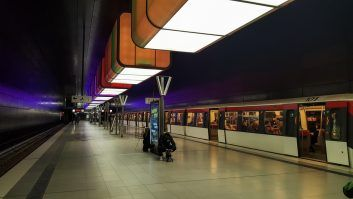 Arta la metrou - Hamburg (HafenCity Universität Subway Station)