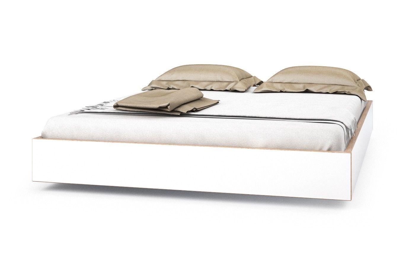 Bett Multiplex Weiss Atlantis 140 X 200 Cm Nein Bett Bett