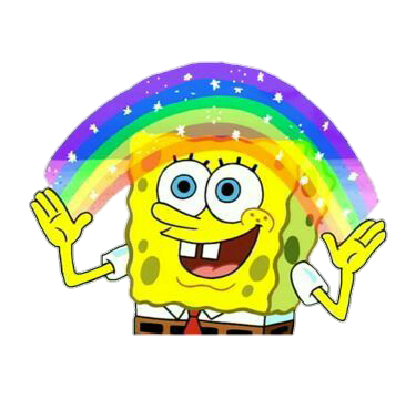 why i dislike capital letters Spongebob cartoon