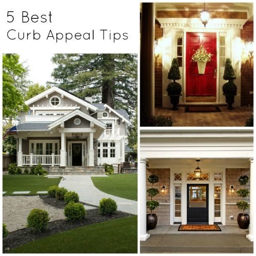 best curb appeal tips diy staging house home garden landscaping also rh pinterest