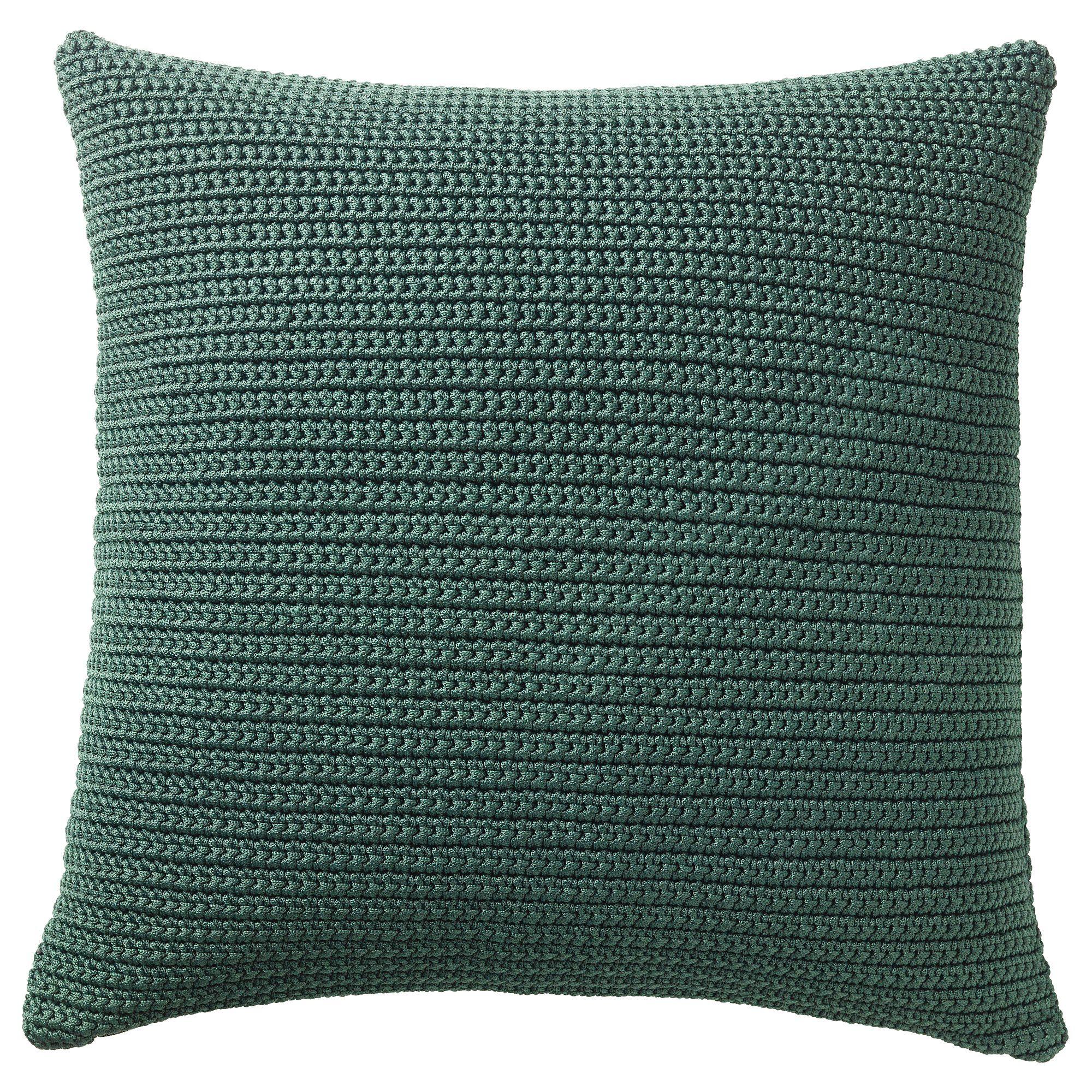 Kissen 45x45 Ikea.Sötholmen Cushion Cover Indoor Outdoor Dark Green Házi