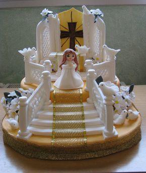 Bizcocho para primera comunion tartas para ni os tarta - Bizcochos de cumpleanos para ninos ...