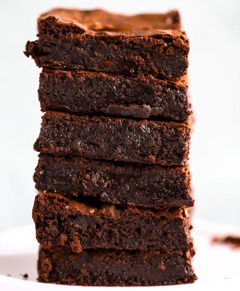 Fudge Brownies Brownies Recept Fudge Brownies Efterrattsrecept