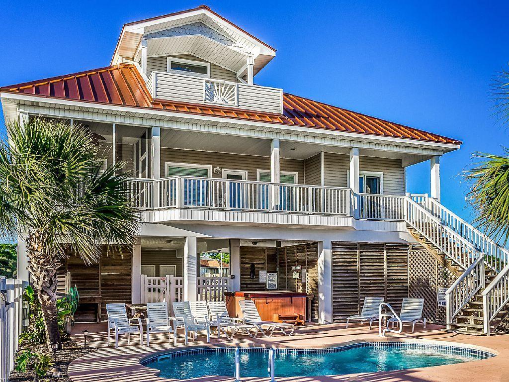 799865 'Beachnique' 4 Bedroom/Private Pool/Hot