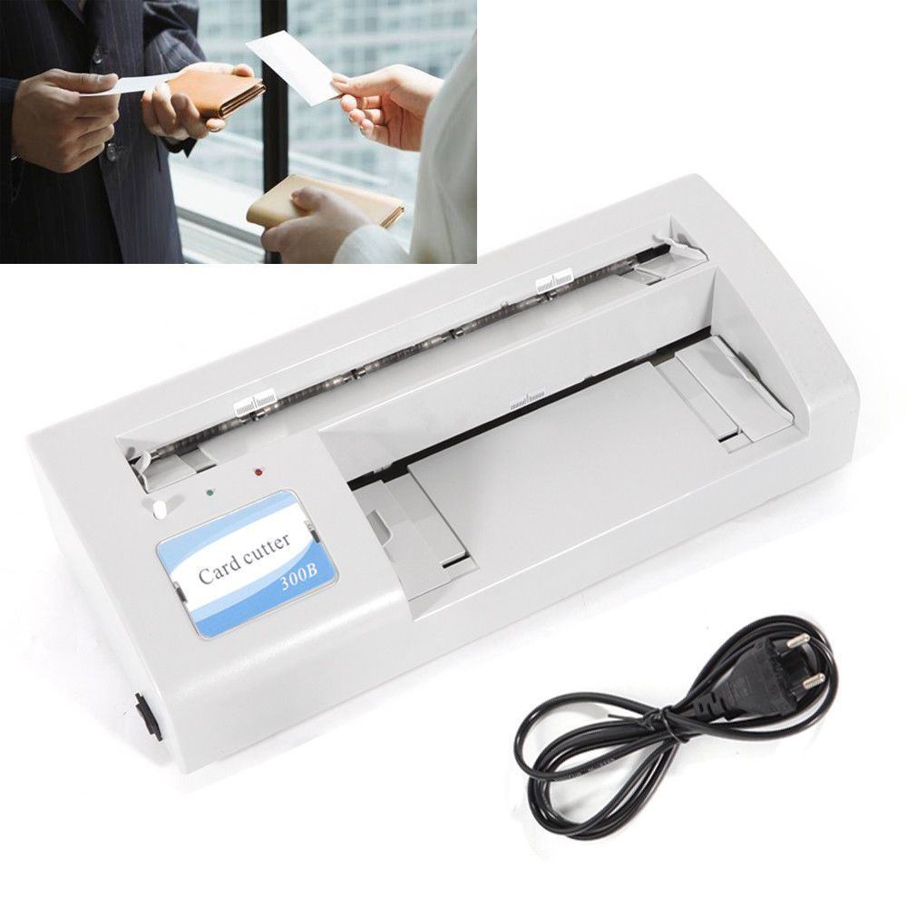 Automatic name card slitter cutter business name card cutting automatic name card slitter cutter business name card cutting machine 110v top ebay link reheart Images