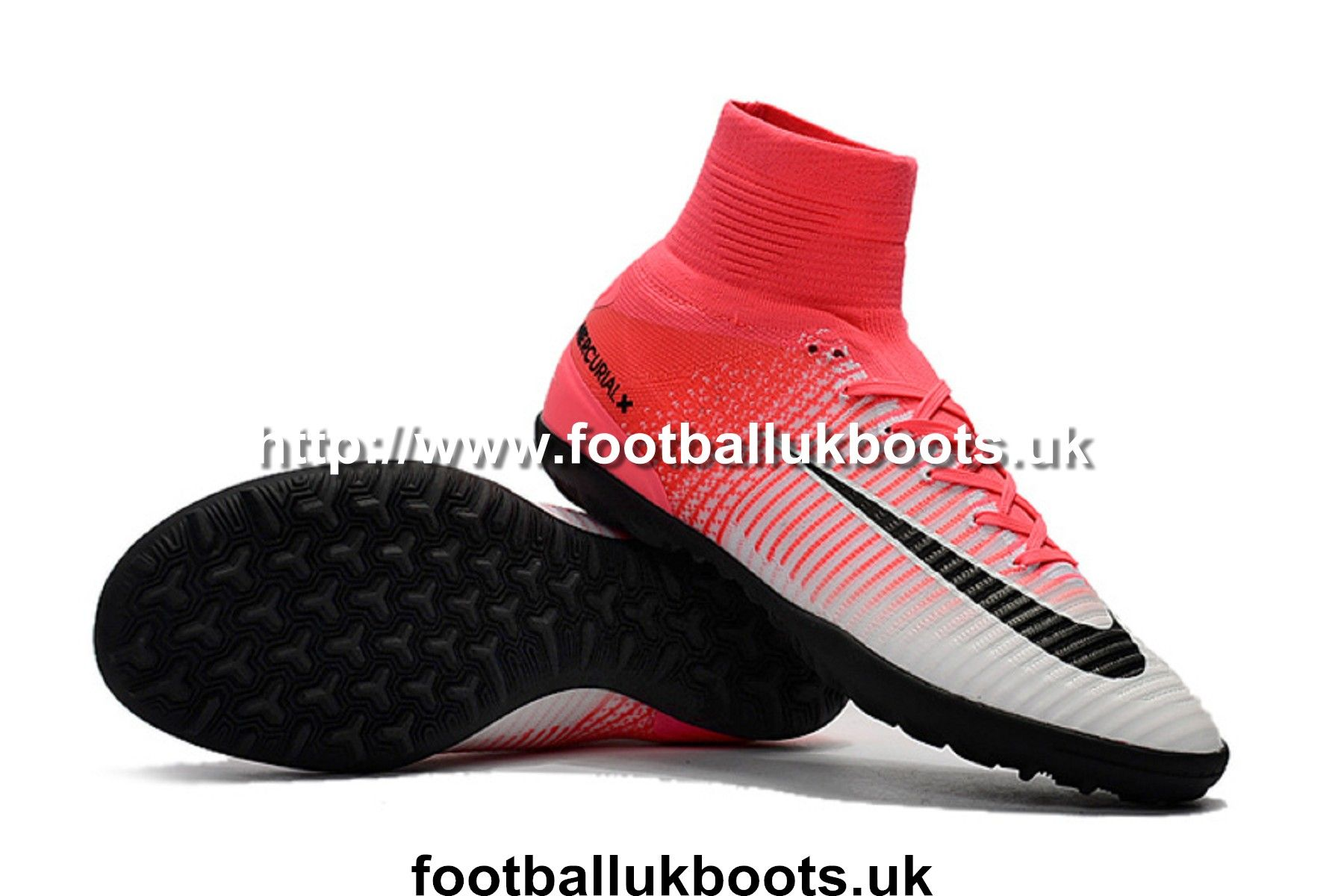 newest collection 99d32 432ae Luxury Kids Football Boots Nike MercurialX Proximo II TF - Race  Pink Black White