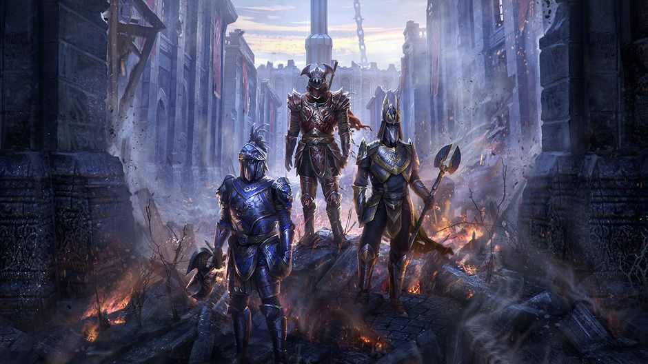 Imperial City -Elder Scrolls Online by Jeremy Fenske | Illustration | 2D | CGSociety