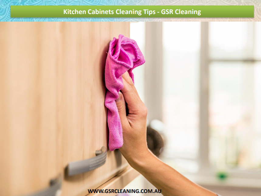 Kitchen cabinets are the hotspot for germs, dirt and insects. There ...