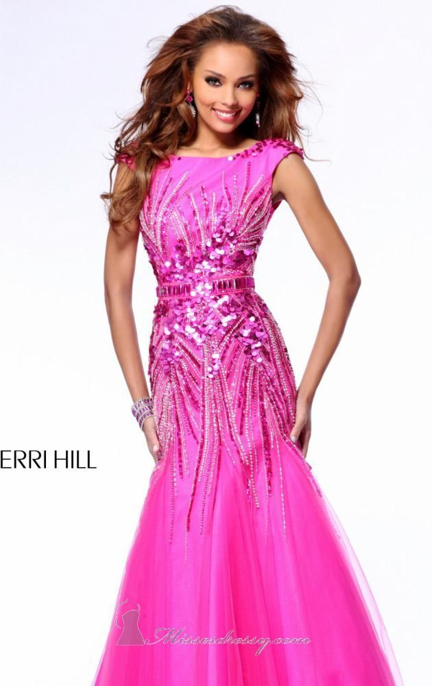 Sherri Hill 21005 #pink #dress #glitter #sparkly #cute #dresses ...