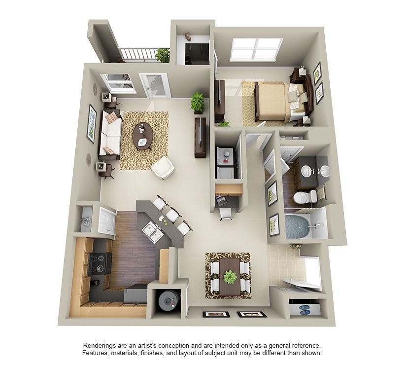One Two And Three Bedroom Apartments In Cypress Tx Apartment Floor Plans Apartment Layout Sims House