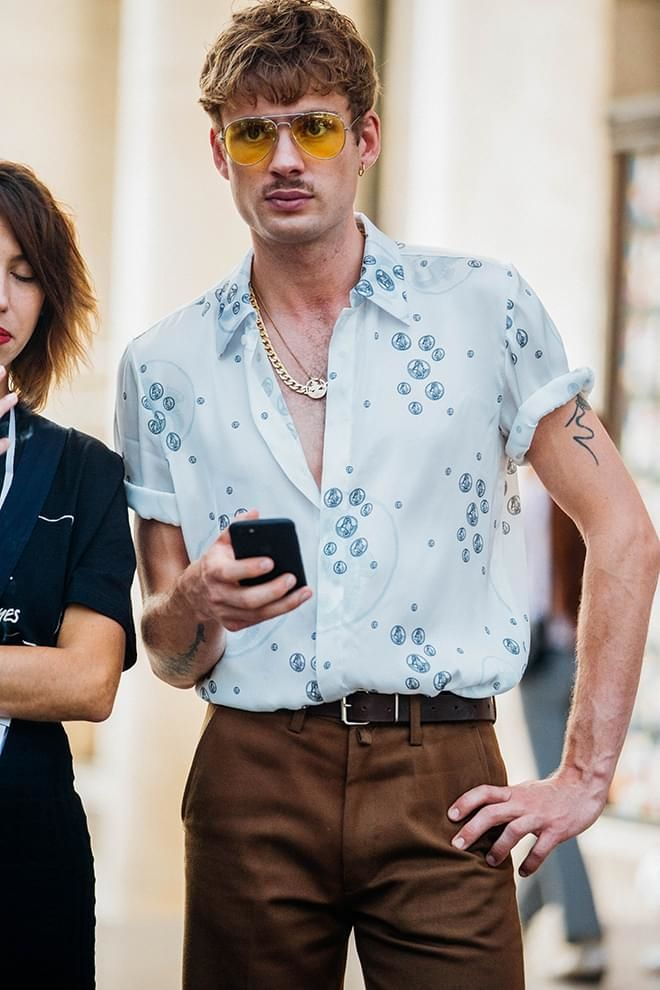 Street style at Paris Menswear Week Spring/Summer 2018 See the sharpest style spotted on the streets around Paris by Jonathan Daniel Pryce at Menswear Week Spring/Summer