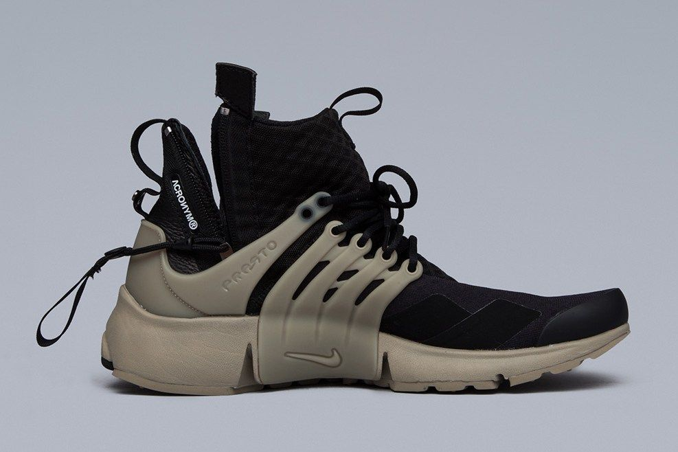 4ee39d2935d7 A More Intricate Look at the ACRONYM x NikeLab Air Presto Mid Collection