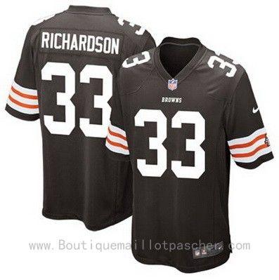 Maillot NFL Cleveland Browns Richardson #33 Noir 34,99€