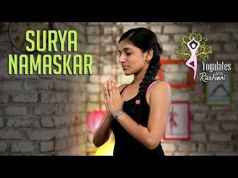 surya namaskar  stepstep  sun salutation  yogalates