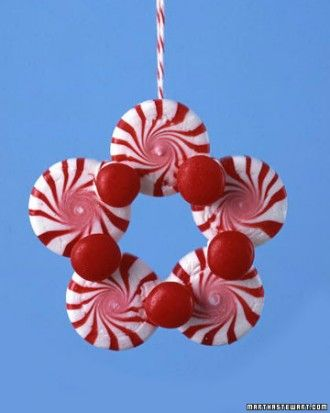 Christmas Ornaments for Kids Peppermint, Ornament and Martha stewart