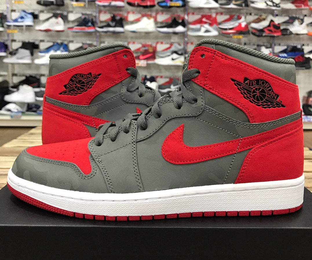 air jordan 1 phat low red & white blood counts