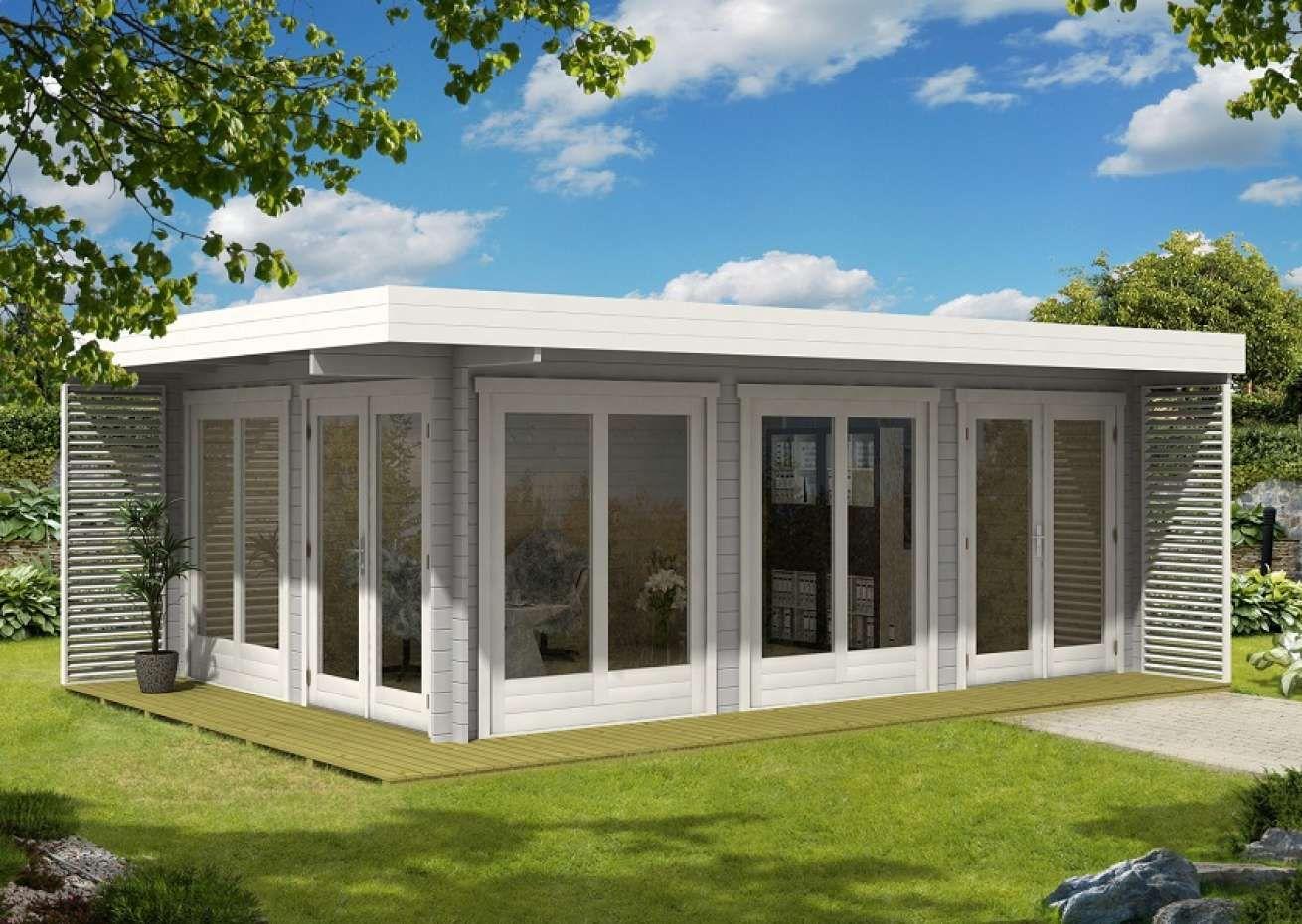 Gardenlounge Viva B in 2020 Gartenhaus flachdach modern