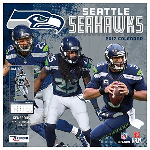 low priced 22d29 80fca Seattle Seahawks 2017 Calendar: Lang Holdings Inc ...