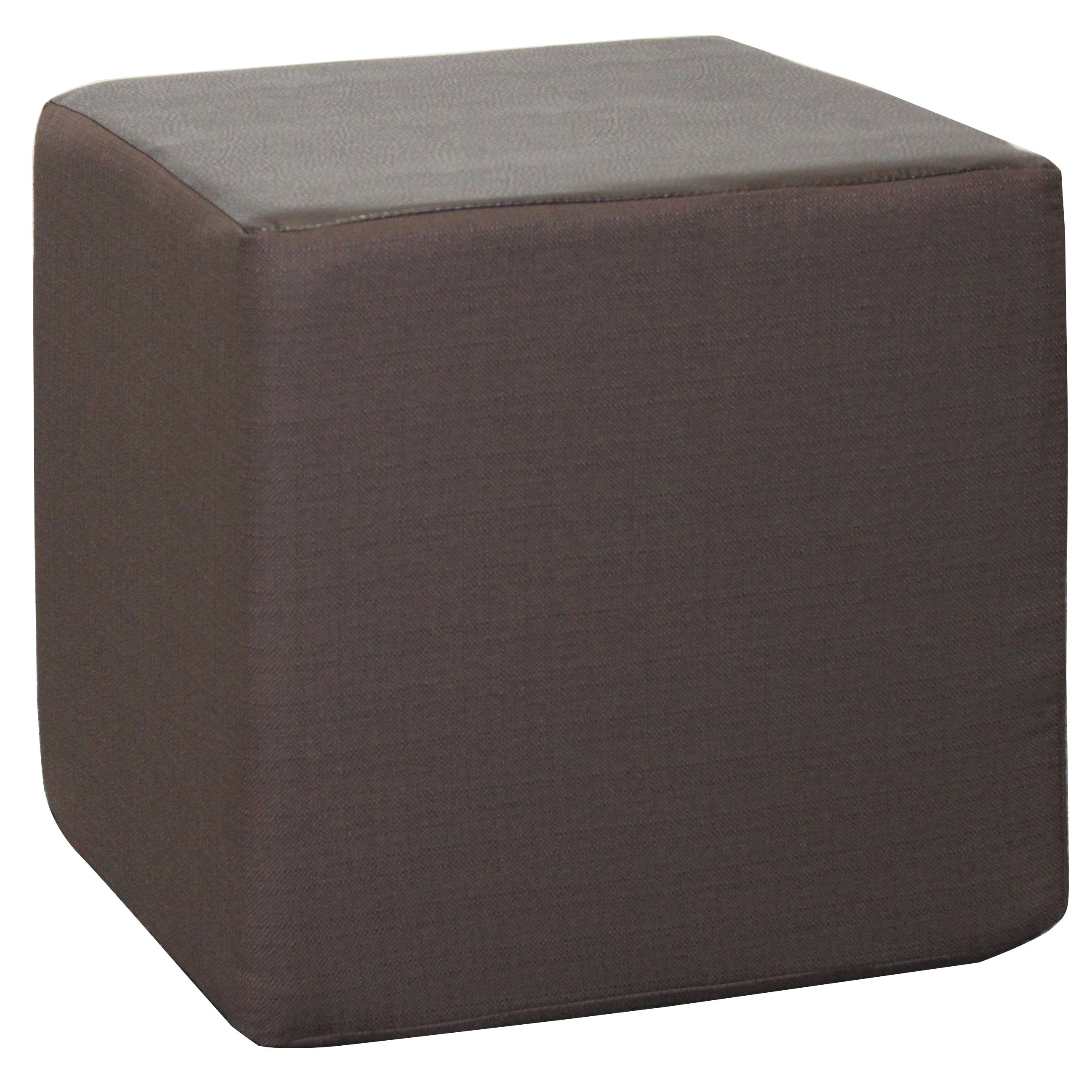 Big Tree Furniture Koala Foam Clyde Espresso 15 Inch Cube