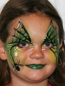little girl witch make up google search - Halloween Face Paint Ideas For Children