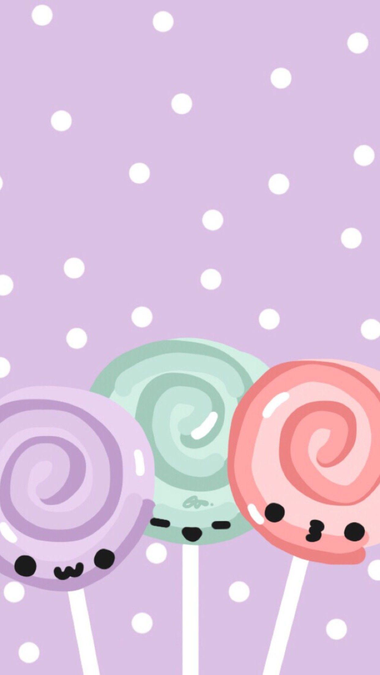 89 Kawaii Phone Wallpapers On Wallpaperplay Cute Wallpaper For Phone Cute Pastel Background Cute Pastel Wallpaper
