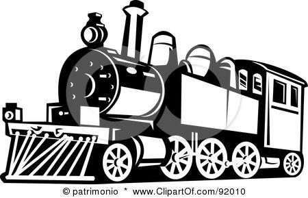 Polar Express Train Clipart Train Illustration Vintage Train