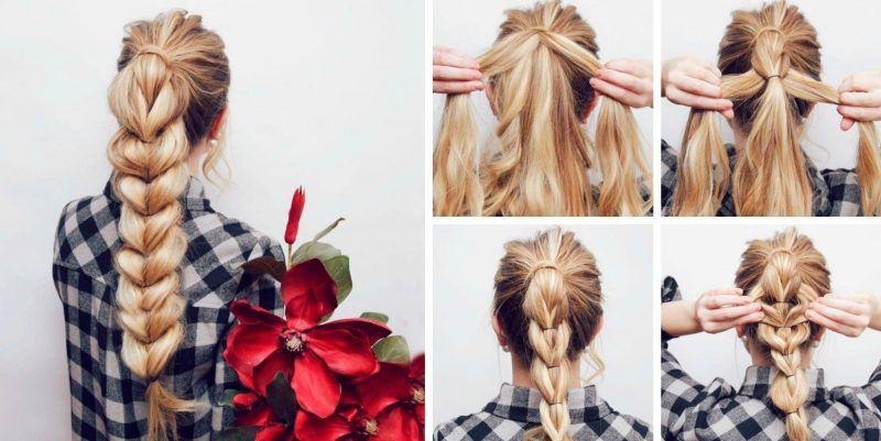 Работа для девушки с длинной косой блестящие колготки с чем носить