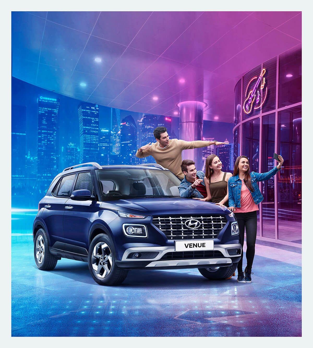 Hyundai Venue in 2020 Car photography, Hyundai, Automobile