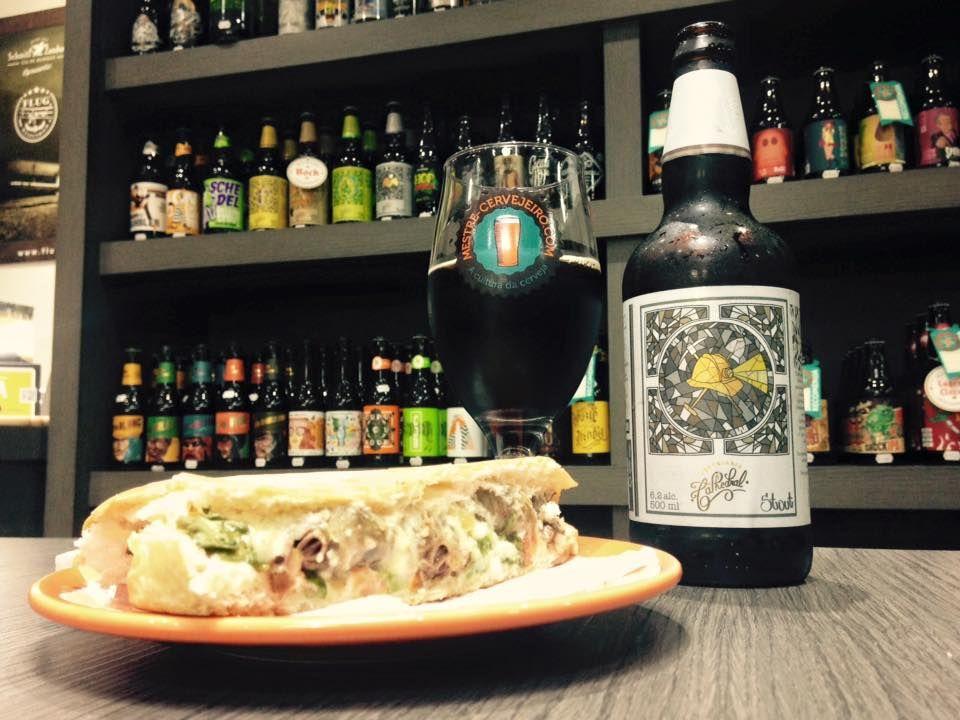 X-Coração x Cathedral Stout #cerveja #harmonizacao #beer #food #pairing