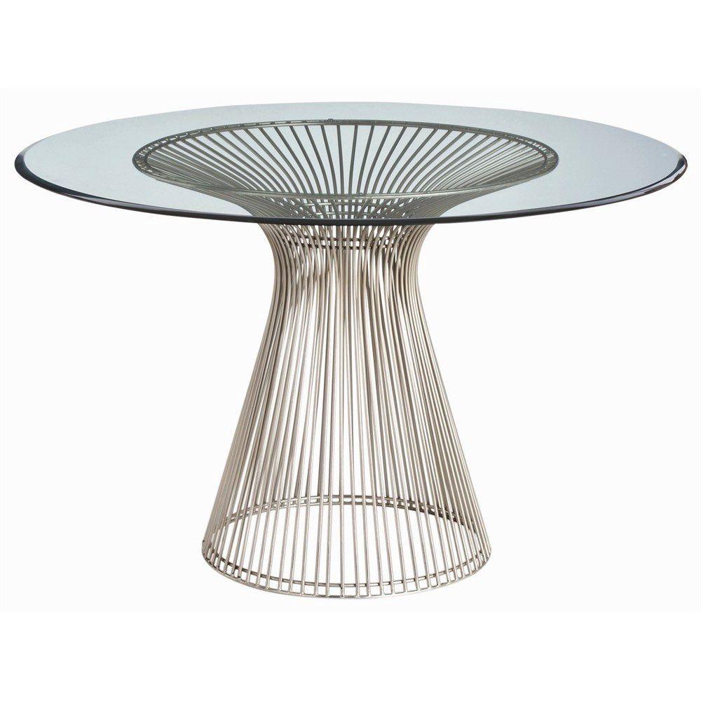 Arteriors Home 6556 Nova Dining Table Entry Table Glass Table