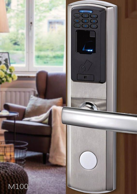 avent security m100 biometric fingerprint door lock - Biometric Door Lock