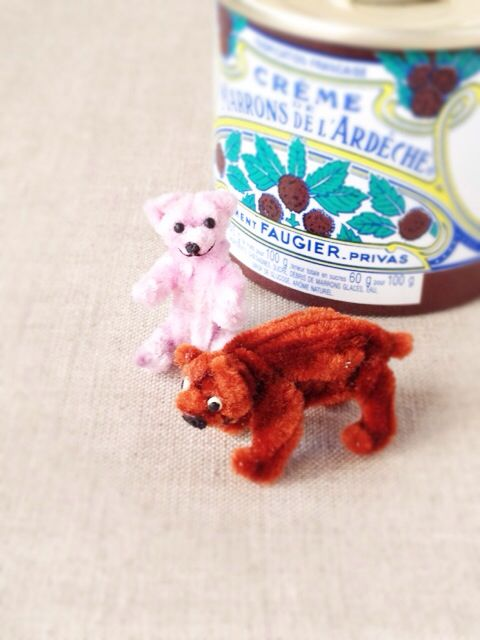Miniature Mogol Bears