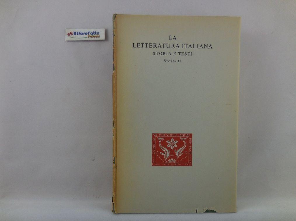 J 5561 LIBRO LA LETTERATURA ITALIANA STORIA E TESTI STORIA 2 STORIA LETTERARIA DEL TRECENTO DI NATALINO SAPEGNO 1952 - http://www.okaffarefattofrascati.com/?product=j-5561-libro-la-letteratura-italiana-storia-e-testi-storia-2-storia-letteraria-del-trecento-di-natalino-sapegno-1952