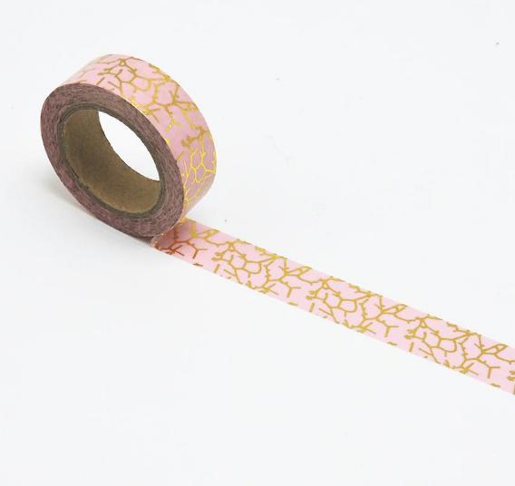 Pink & Gold Decorative Washi Tape