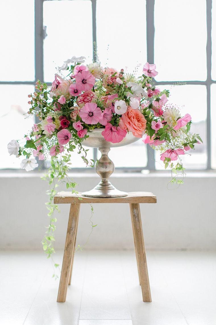 Blume Des Monats August Malve Pink Wedding Pinterest Wedding