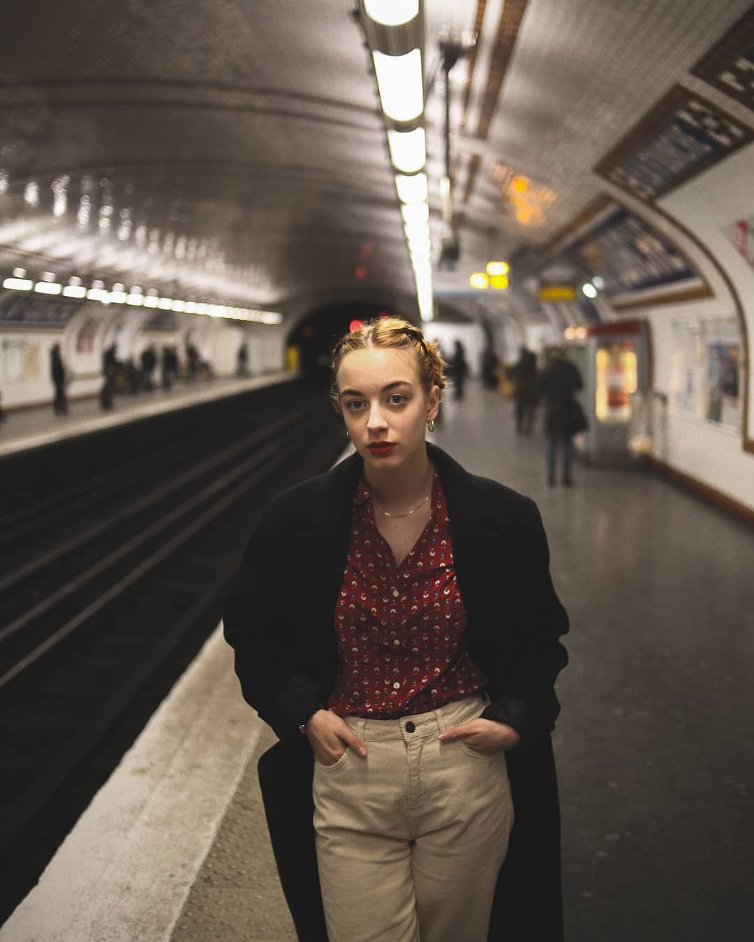 Adrianvader Lily Ana Rose Metro Portrait Photography