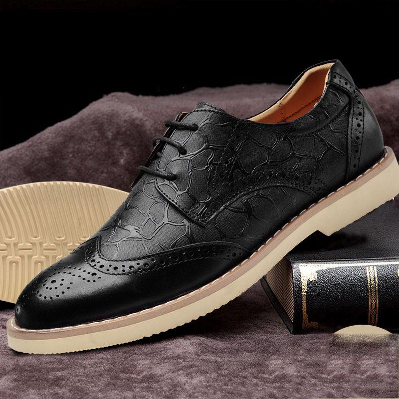 New Vintage Fashion Men Brogue Shoes