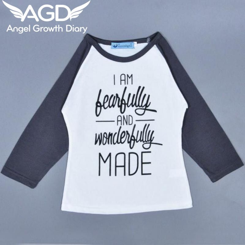 Find More Tees Information about Age12M 5T 2016 New Arrival Fashion Bobochoses Girls T shirts Children's Wear Long Sleeved T shirt Letters Ins New T shirt,High Quality t-shirt brazil,China t-shirt girl Suppliers, Cheap t-shirt led from Angel Growth Diary on Aliexpress.com