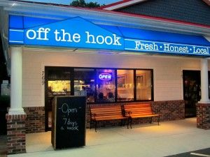 Off The Hook Restaurant Bethany Beach It Is As Its Name Implies