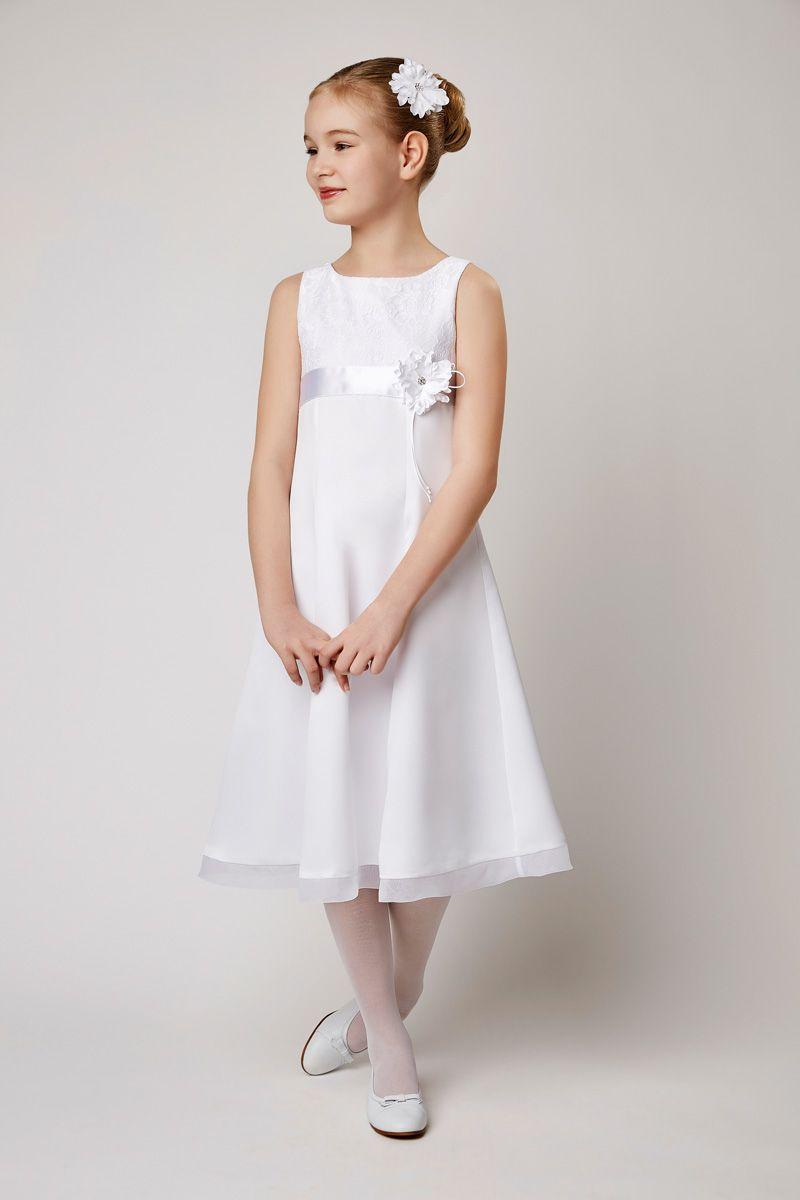 satin kleid biancorella kommunionkleid 2018 kommuniononline