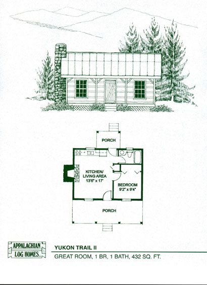 Tiny House Plans Do It Yourself: A Great Hideaway For Cozy Weekends. This Simple Log Home
