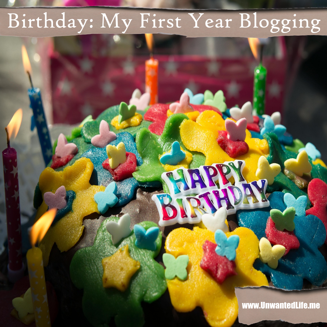 Birthday My First Year Blogging in 2020 Birthday cake