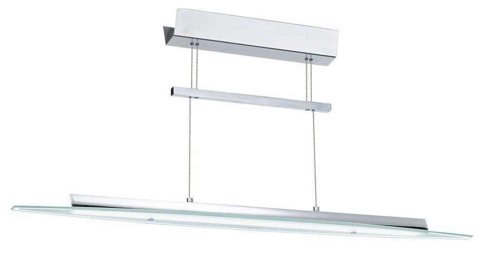 Simple Watt LED Decken Zug Pendel Leuchte Esstisch H nge Lampe H hen Verstellbar EGLO u