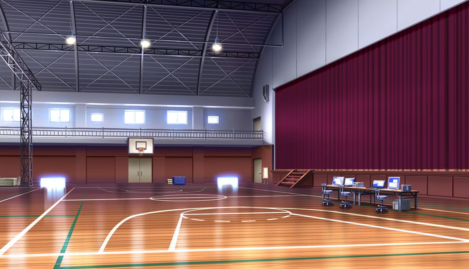 School Anime Scenery Background Wallpaper Cenario Anime Fundo De Animacao Cenario Para Videos