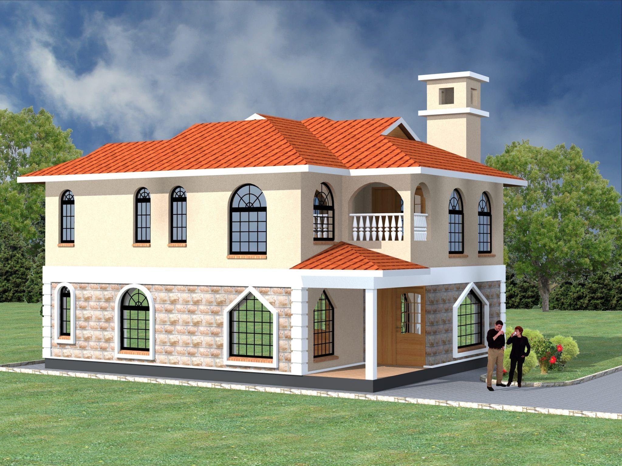 5 Bedroom Design 1043 A House Plans House Styles Maisonette