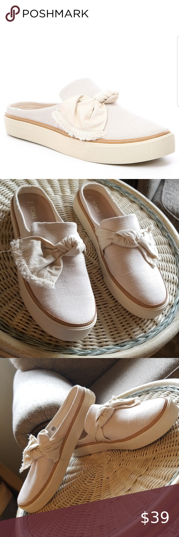 Toms Natural Heritage Canvas with Knot