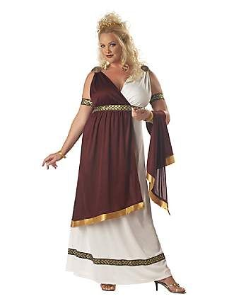 Roman Empress $42.99  Great idea because I could really do a lot with my hair for this costume