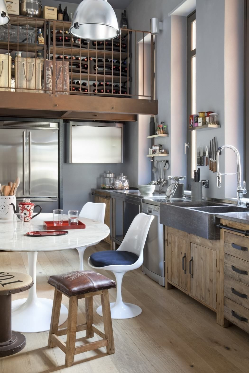 Vintage Industrial Design Ideas For Your Loft Industrial Chic