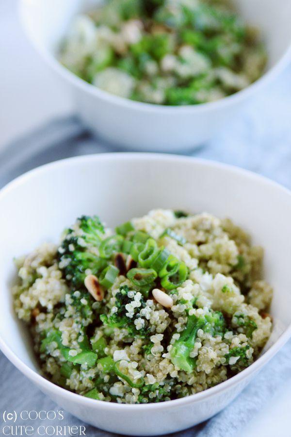 Photo of Quinoa salad with broccoli, avocado and feta – great quinoa love