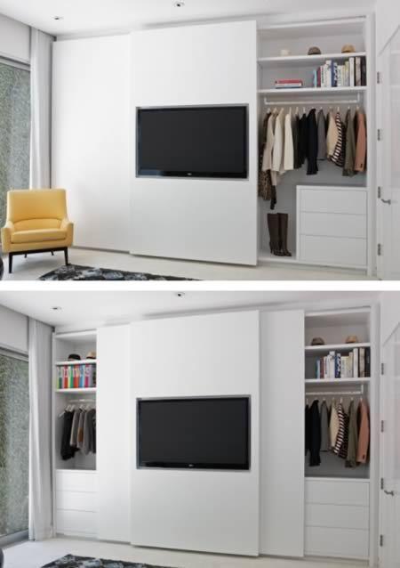 At First Glance This Just Appears Like A Well Organized Wardrobe Closet But If You Take A Closer Slaapkamerideeen Slaapkamer Inrichten Slaapkamer Organisatie